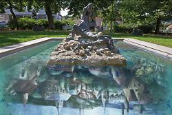 Der Stephanus- Saulus- Brunnen