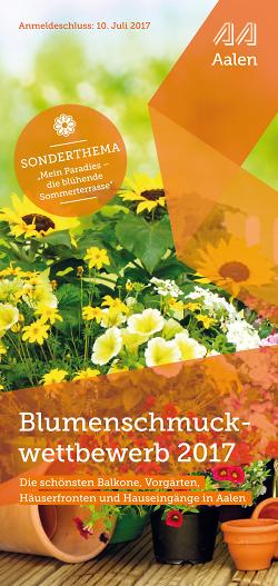 Blumenschmuckwettbewerb 2017