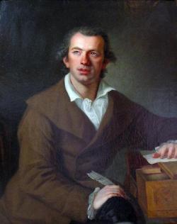 Portrait von Johann G. Ettlinger