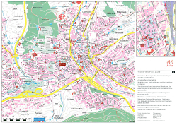 Broschüre Innenstadt Stadtplan