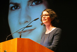 Literatur-Förderpreisträgerin 2017 Isabelle Lehn